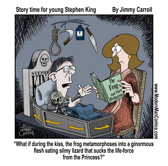 Bedtime For Lil' Stephen King By Jimmy Carroll