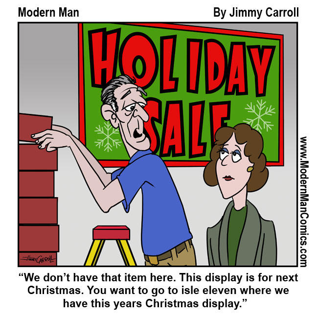 A Holiday Sale Jimmy Carroll