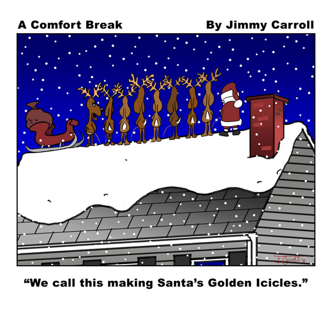 Jimmy Carroll Comfort Break