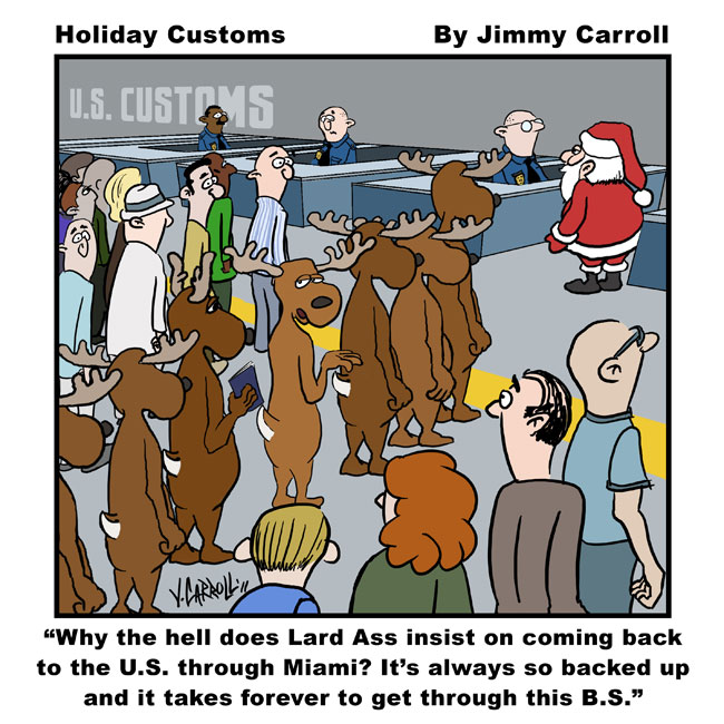 Jimmy Carroll Holiday Customs