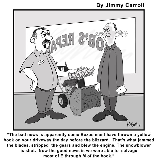 Jimmy Carroll Snowblower