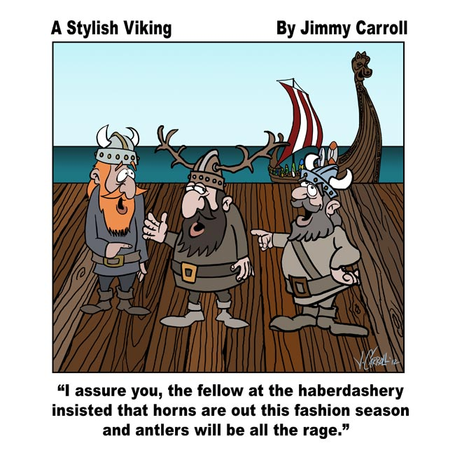 Stylish Viking By Jimmy Carroll