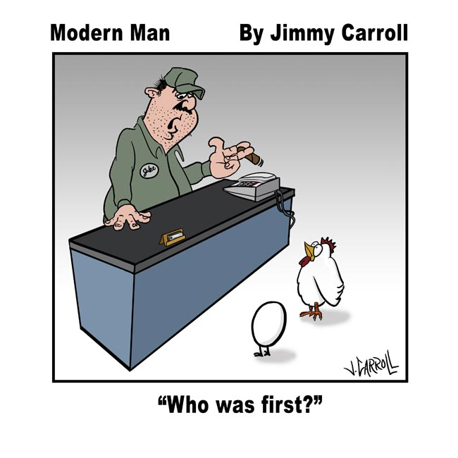 Jimmy Carroll Who was first?
