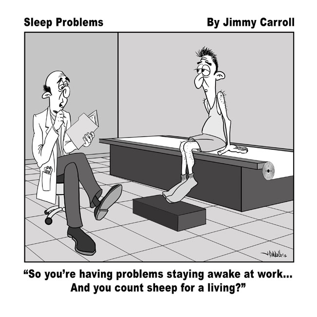 Jimmy Carroll Sleep Problems